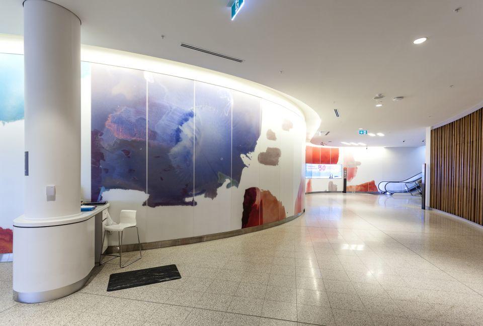 'Wonder Walk' DETAIL Glass Glazing Perth International Airport T1